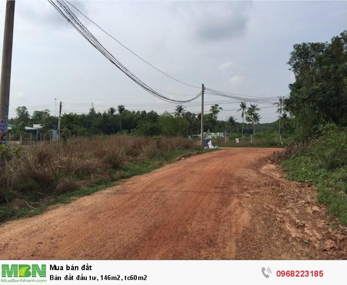 Bán đất đầu tư, 146m2, tc60m2