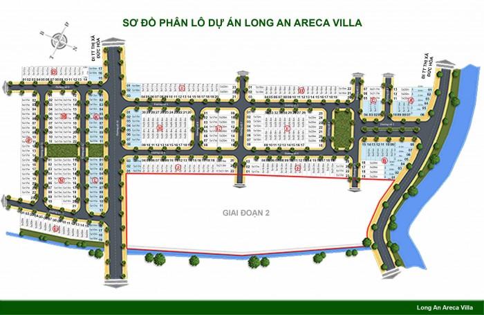 Bán đất nền dự án Long An ARECA VILLA