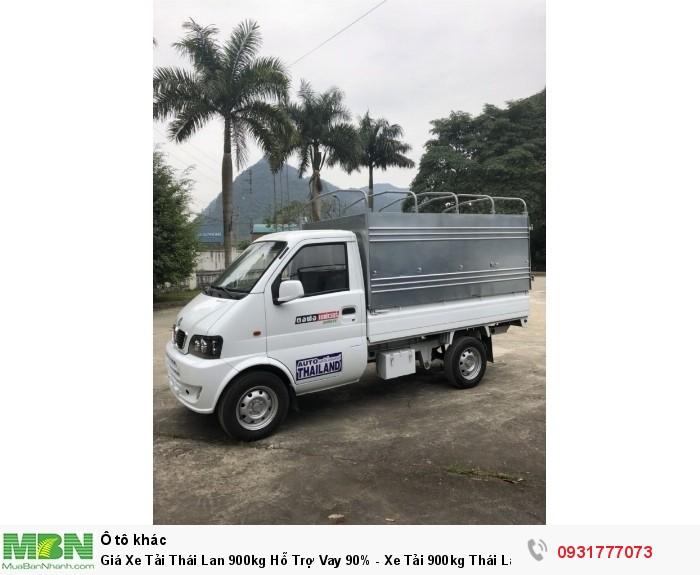 Xe tải Thái Lan 900kg - đóng thùng theo yêu cầu khách hàng