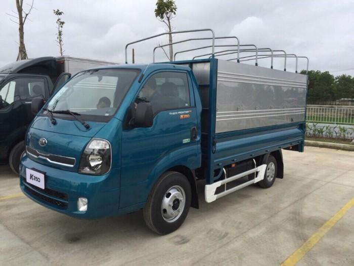 Xe tải K250 thùng mui bạt