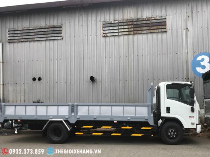 Bán xe tải Isuzu 5.5 tấn / 5T5 / 5Tan5 - thùng lửng 2018 - SX 2018