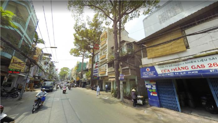 Bán nhà đường Ngô Quyền, Q.10. DT 5x18m, 1 trệt, 3 lầu, nở hậu.