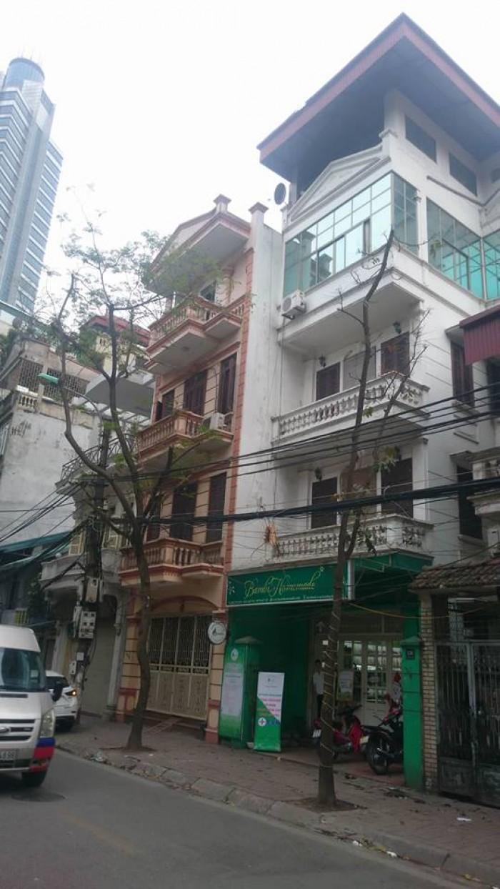 Bán nhà mặt phố Phó Đức Chính Ba Đình 101m2 5 tầng mặt tiền 6m 31 tỷ