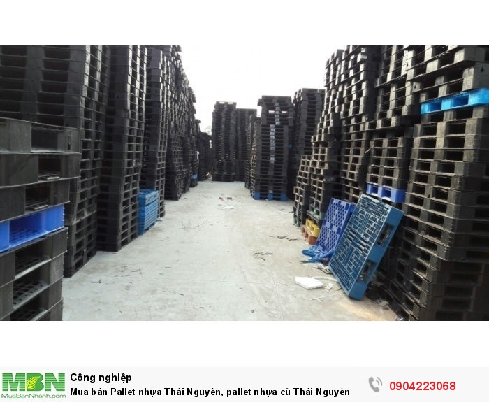 Mua bán Pallet nhựa Thái Nguyên, pallet nhựa cũ Thái Nguyên0