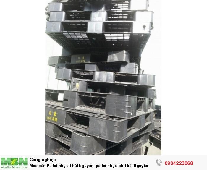 Mua bán Pallet nhựa Thái Nguyên, pallet nhựa cũ Thái Nguyên2
