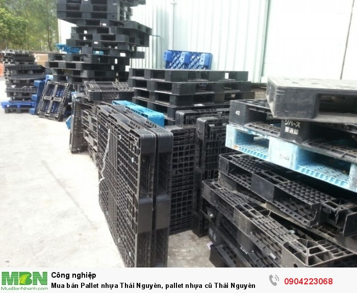 Mua bán Pallet nhựa Thái Nguyên, pallet nhựa cũ Thái Nguyên1
