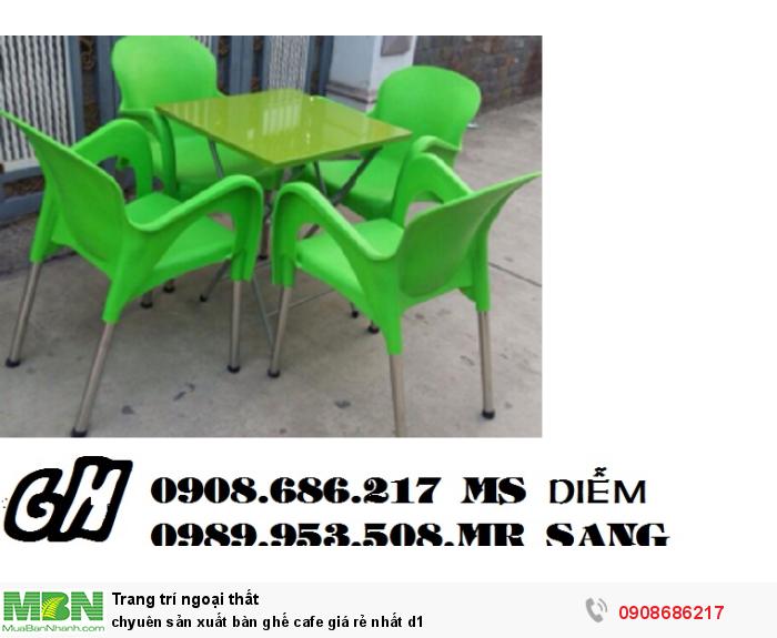 Chuyên sản xuất bàn ghế cafe giá rẻ nhất z10