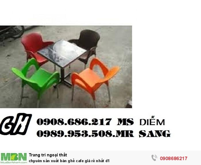 Chuyên sản xuất bàn ghế cafe giá rẻ nhất z12