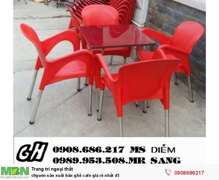 Chuyên sản xuất bàn ghế cafe giá rẻ nhất z13