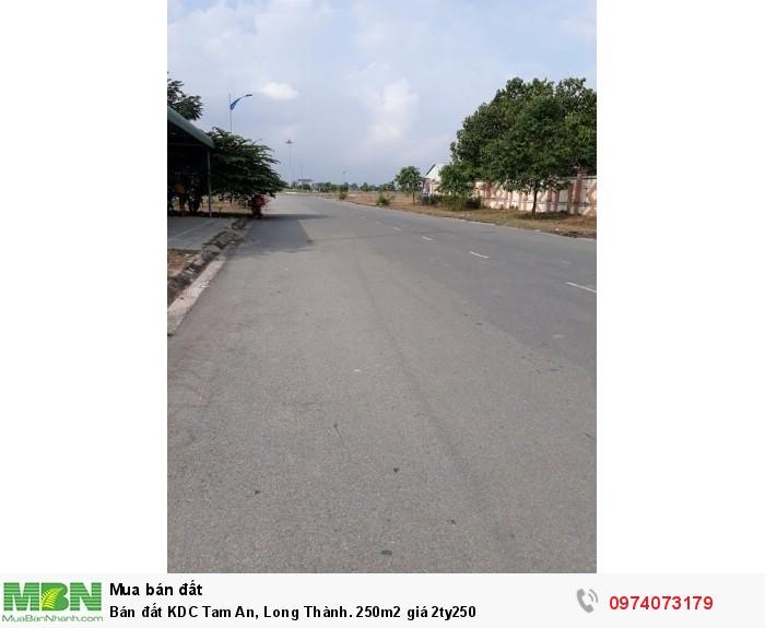 Bán đất KDC Tam An, Long Thành. 250m2