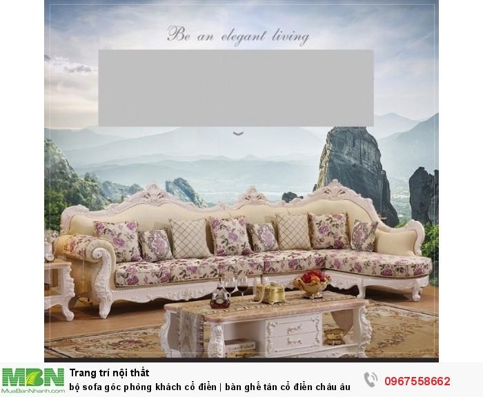 sofa góc tân cổ điển0