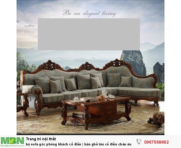 sofa gỗ góc cổ điển4