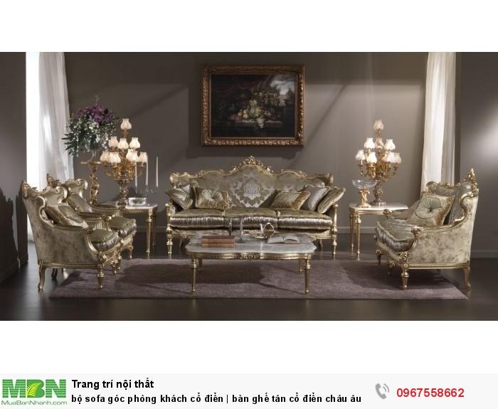 bàn ghế phong cách hoàng gia5