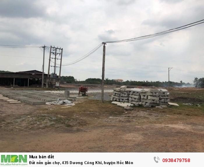 Đất nền gần chợ, 435 Dương Công Khi, huyện Hóc Môn