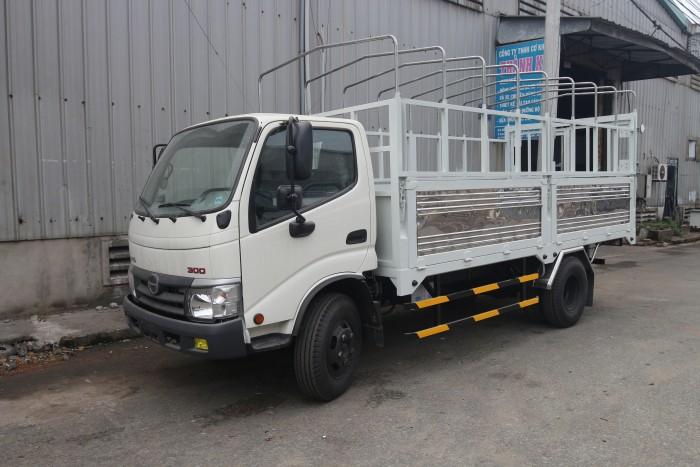 Xe tải Hino 3.4 tấn thùng kín, thùng bạt, giá tốt nhất miền nam