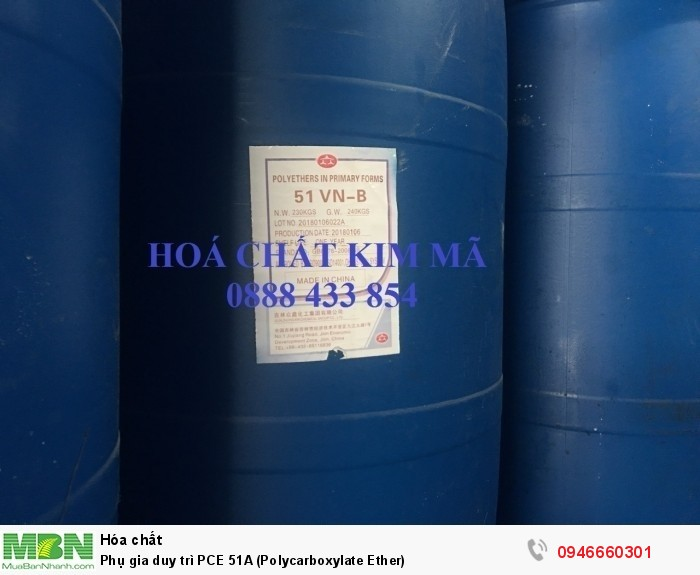 Phụ gia duy trì PCE 51A (Polycarboxylate Ether)1