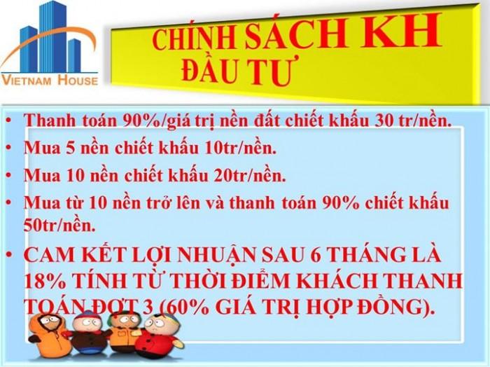 Đất nền mặt tiền Võ Văn Bích - Củ Chi cam kết lợi nhuận 18% sau 6 tháng