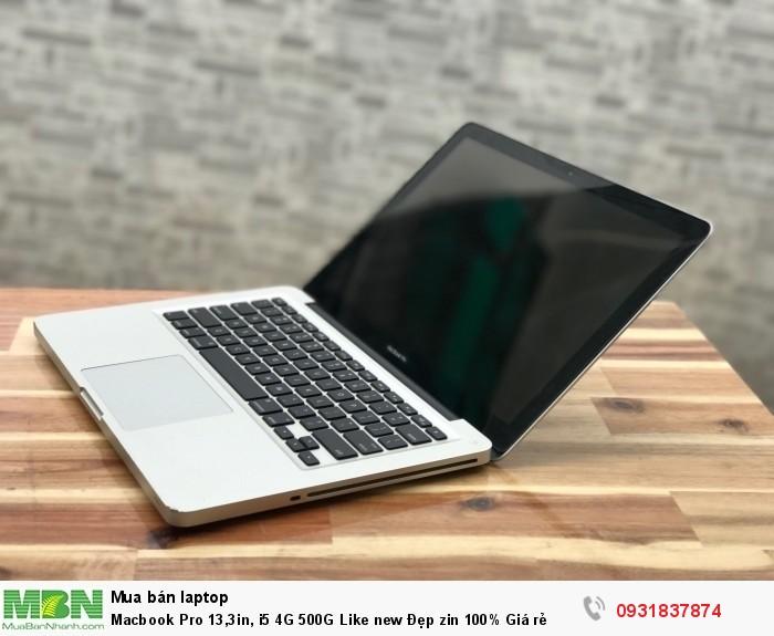 Macbook Pro 13,3in, i5 4G 500G Like new Đẹp zin 100% Giá rẻ