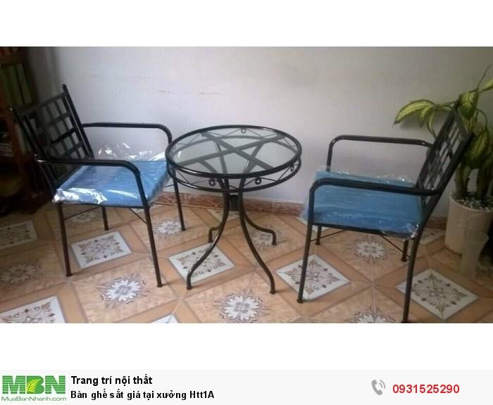 Bàn ghế sắt giá tại xưởng Htt1A0