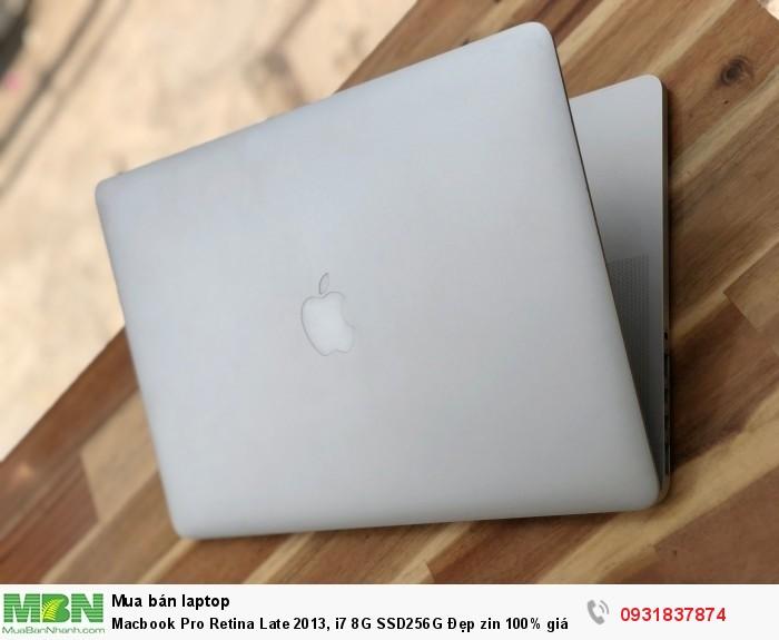 Macbook Pro Retina Late 2013, i7 8G SSD256G Đẹp zin 100% giá rẻ0