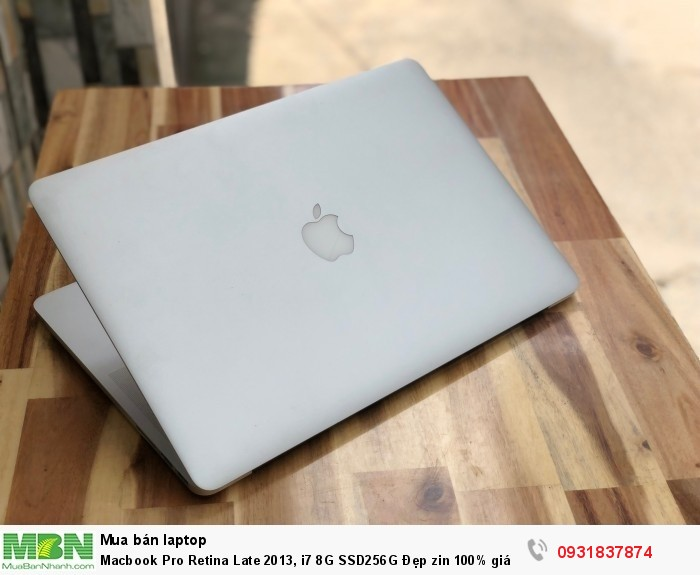 Macbook Pro Retina Late 2013, i7 8G SSD256G Đẹp zin 100% giá rẻ4