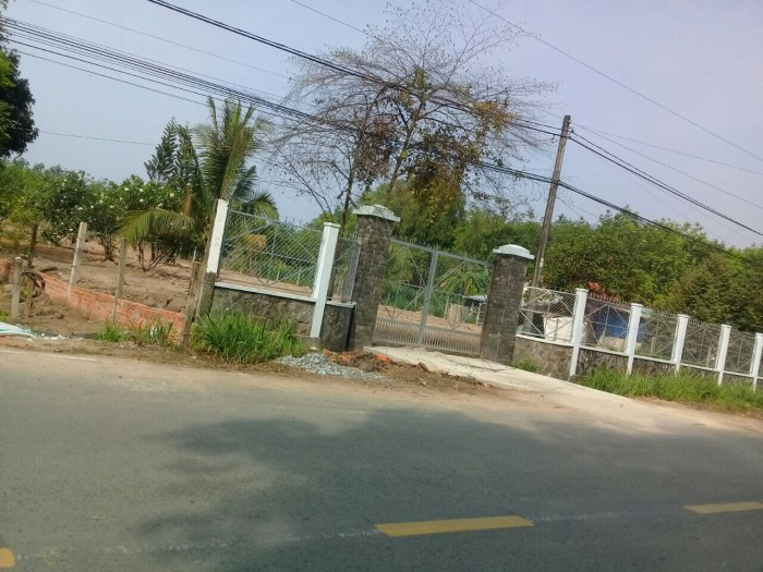 Đất nền diện tích rộng 7193m2  mặt tiền 40m ( đường: VÕ THỊ BÀNG ) xã Phú Mỹ Hưng, Củ Chi