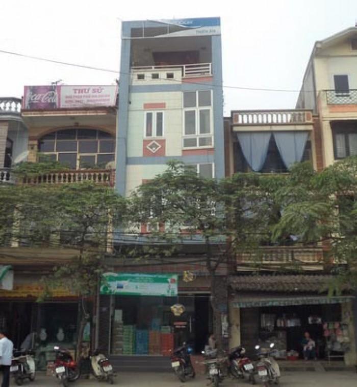 Bán đất mặt phố Nguyễn Phong Sắc 50m2 * 4 tầng
