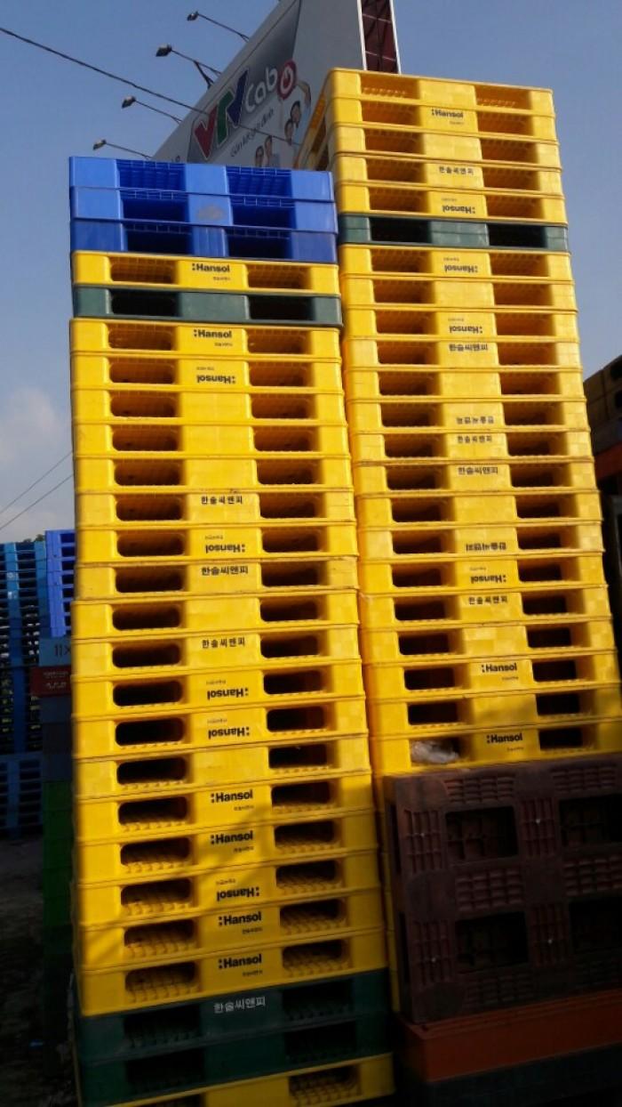 Mua bán pallet nhựa Hưng Yên, bán Pallet nhựa cũ Hưng Yên