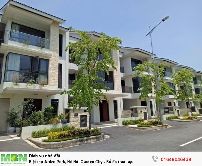Biệt thự Arden Park, Hà Nội Garden City - Sổ đỏ trao tay.