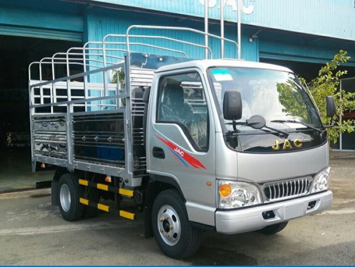 Xe tải nhẹ JAC 1,99 tấn thùng dài 3,4m hỗ trợ trả góp lai suất ưu đãi