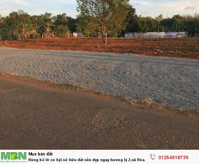 Đừng bỏ lỡ cơ hội sở hữu đất nền đẹp ngay hương lộ 2,xã Hòa Long,TP.Bà Rịa,1tr9tr/m2