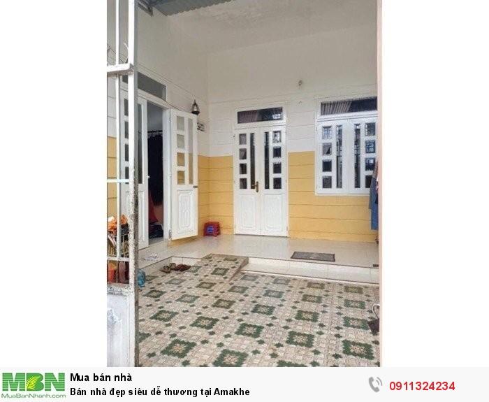 Bán nhà đẹp siêu dễ thương tại Amakhe