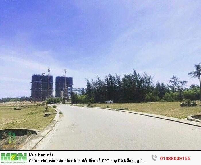 Chính chủ cần bán nhanh lô đất liền kề FPT city Đà Nẵng