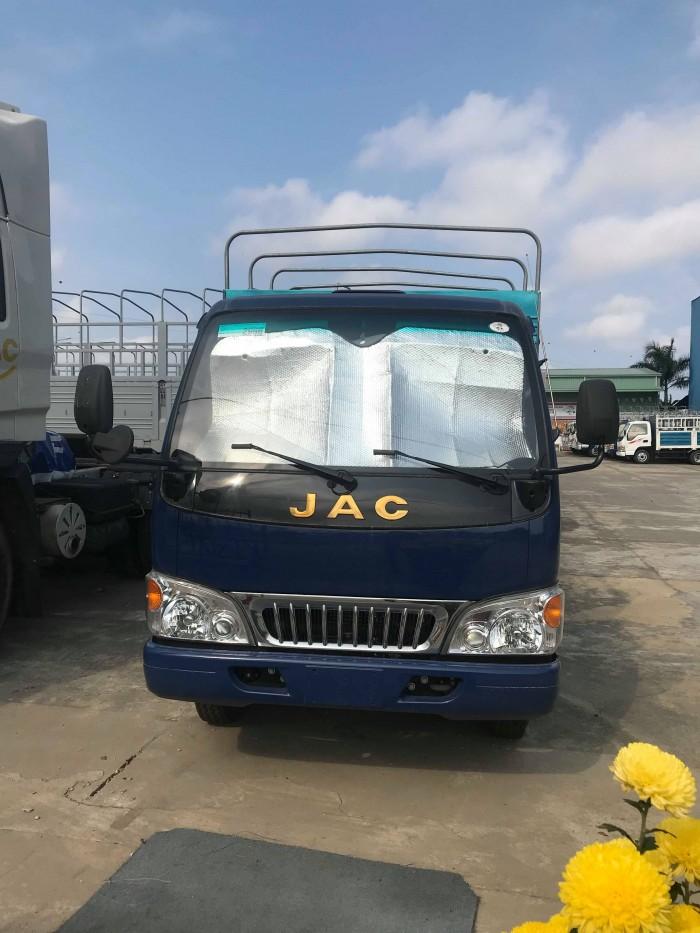 Khuyến mãi mạnh, bán xe tải JAC Euro 2 để chờ euro4, xe tải 1.2t, 1.4t...máy ISUZU, bảo hành 3 năm