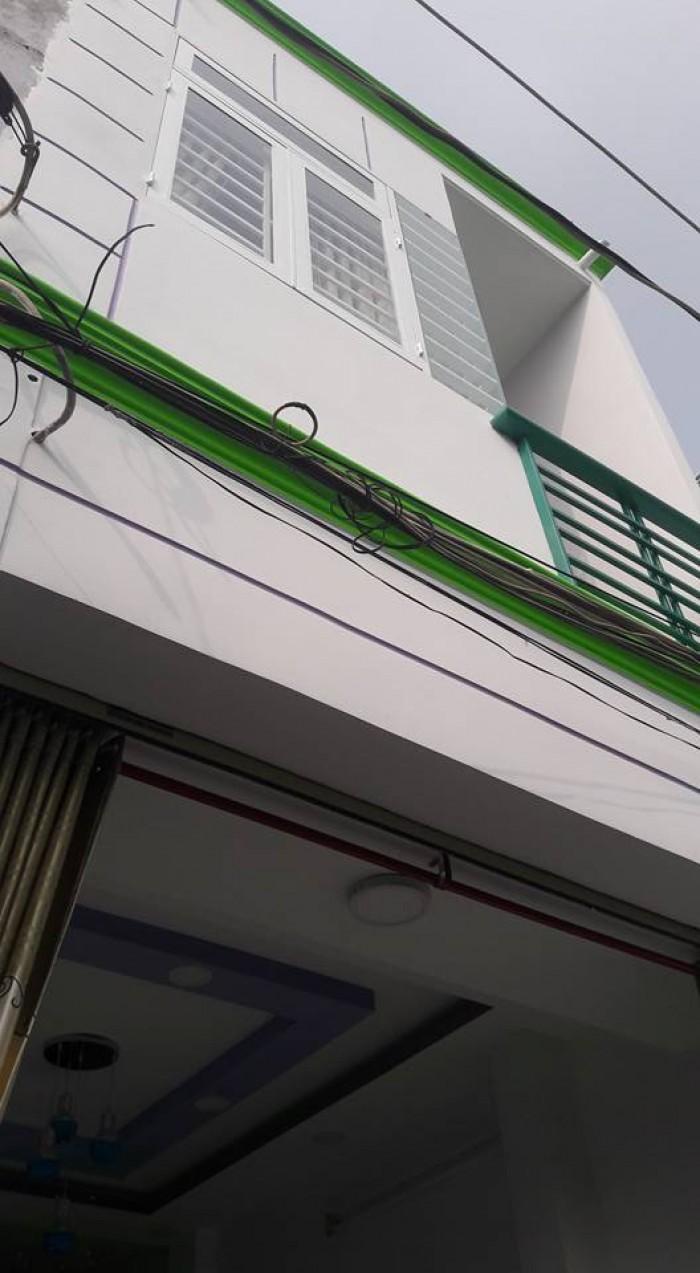 Nhà bán đường Nguyễn Duy Cung ,p12 Gò Vấp,dt 3.5x9 đúc 1 trệt ,1 lầu ,