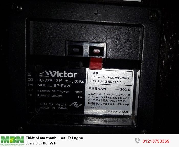 Loa victor DC_V7F2