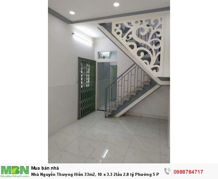 Nhà Nguyễn Thượng Hiền 33m2, 10 x 3.3 2lầu Phường 5 Phú Nhuận.