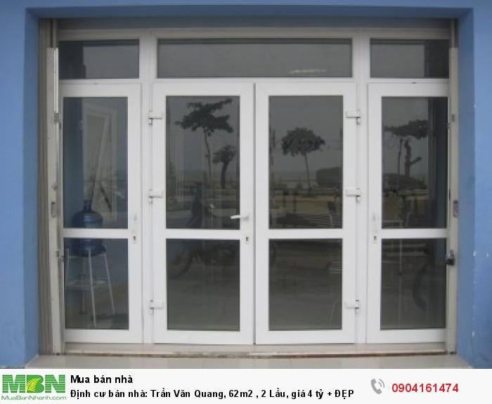 Định cư bán nhà: Trần Văn Quang, 62m2 , 2 Lầu, giá 4 tỷ + ĐẸP