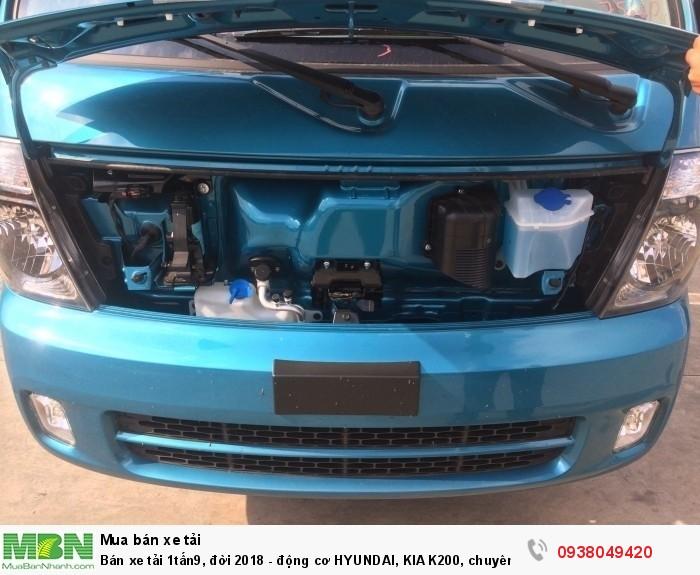 Xe Tải Thaco Kia K200 - Tải Trọng 1tấn9 - Mới nhất - Động Cơ HYUNDAI - Hổ Trợ Trả Góp 6