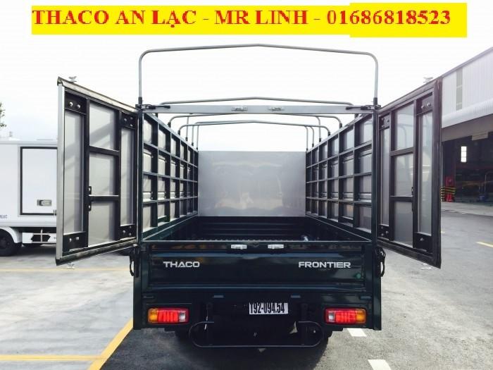 Xe tải Thaco Kia K165 thùng mui bạt mới – 2 tấn 4 Hỗ trợ trả gốp ngân hàng đến 75%