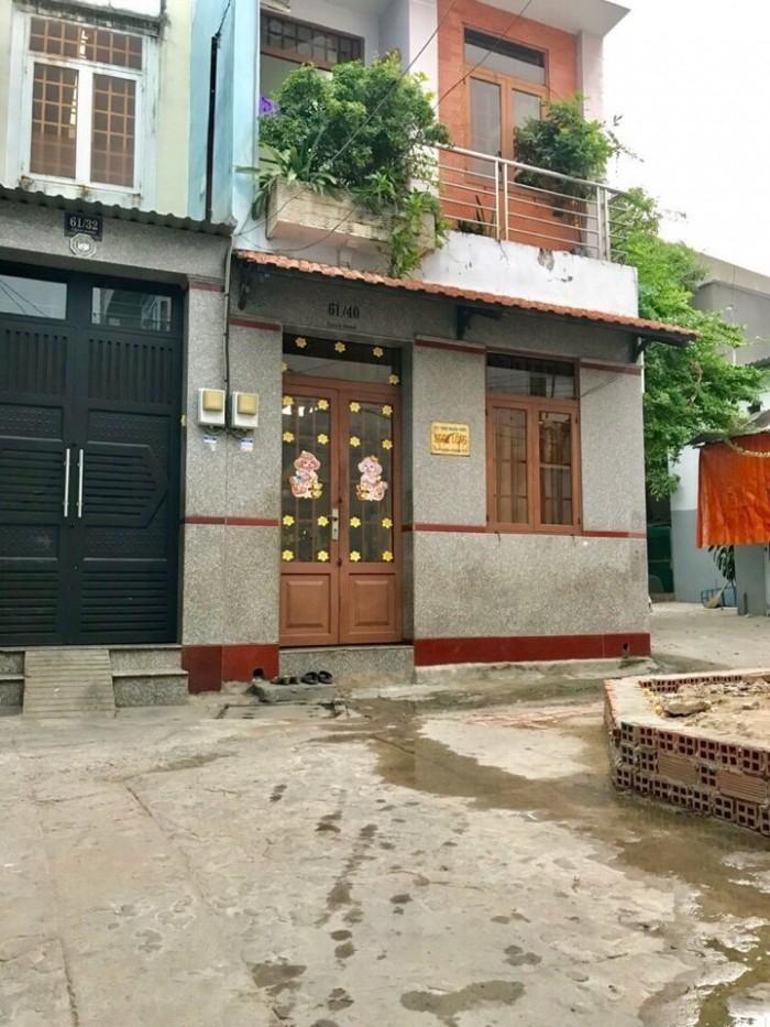 Nhà hẻm giá rẽ đường Cách Mạng , DT 3,5m x 7m