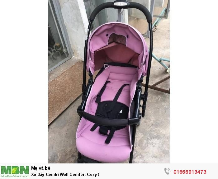 Xe đẩy Combi Well Comfort Cozy !0