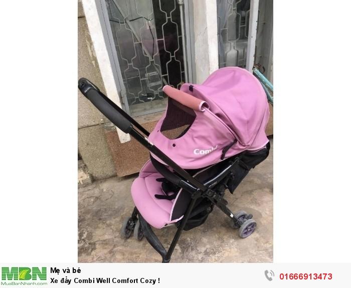 Xe đẩy Combi Well Comfort Cozy !1