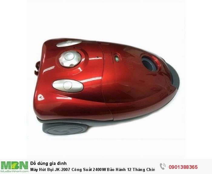Máy hút bụi Vacuum Cleaner JK-2007 được thiết kế từ chất liệu cao cấp có khả...