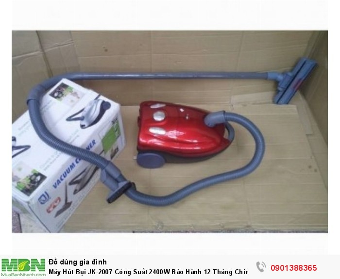 Máy hút bụi Vacuum Cleaner JK-2007 chắc chắn sẽ là một trợ thủ đắc lực giúp c...