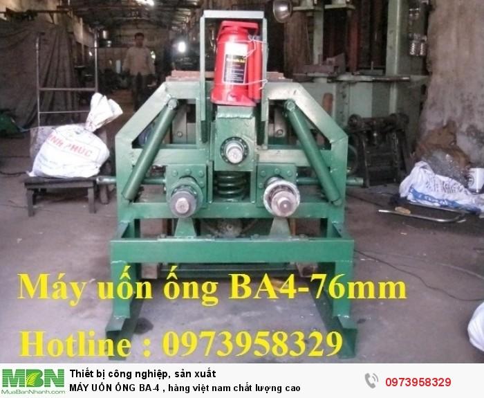 MÁY UỐN ỐNG BA-4 , hàng việt nam chất lượng cao