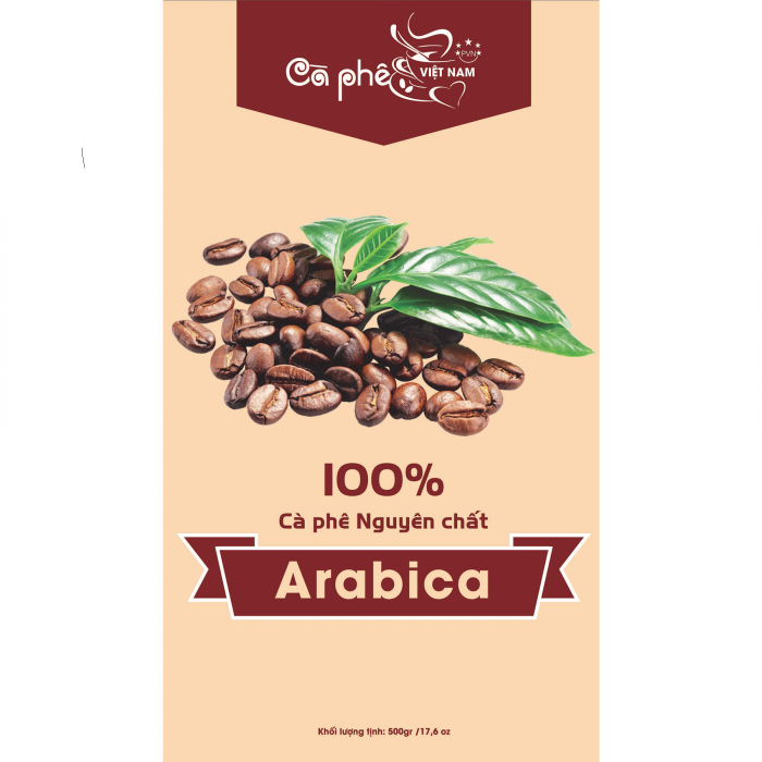 Cà Phê ARABICA Hạt RANG Nguyên Chất (100% Hạt) MỘC