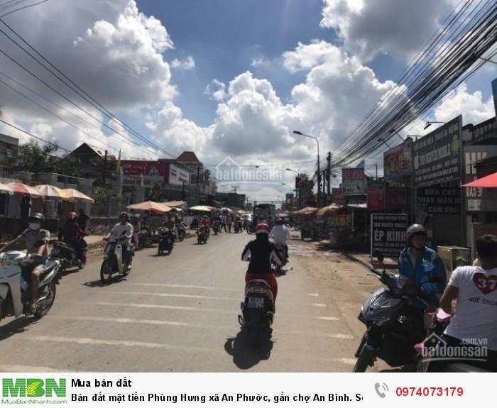 Bán đất mặt tiền Phùng Hưng xã An Phước, gần chợ An Bình. Sổ hồng