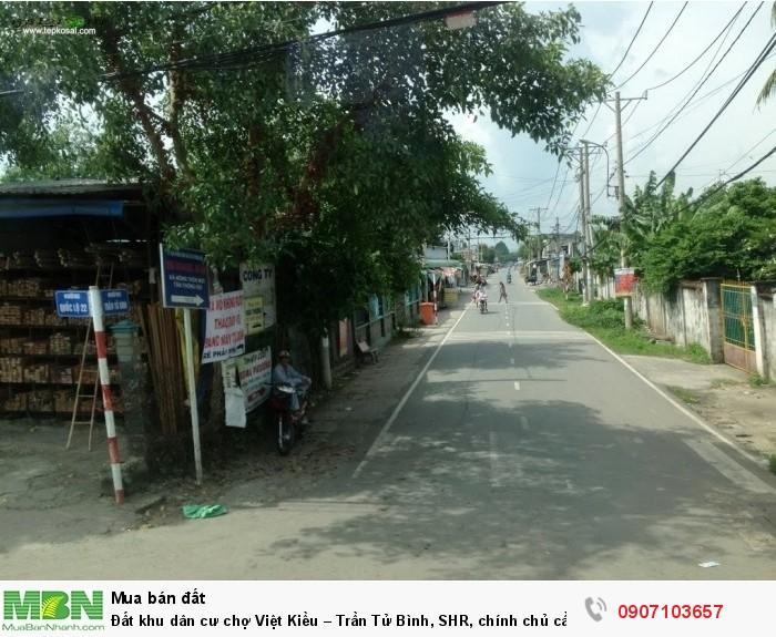 Đất khu dân cư chợ Việt Kiều – Trần Tử Bình, SHR, chính chủ cần bán gấp