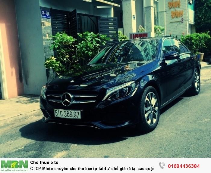 CTCP Mioto chuyên cho thuê xe tự lái 4-7 chỗ giá rẻ tại các quận TPHCM